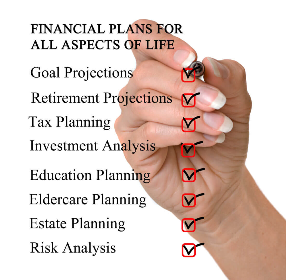 Financial Planning for all aspects of life