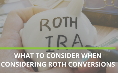 What to know about ROTH conversions