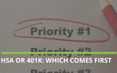 How to prioritize HSA vs 401K?