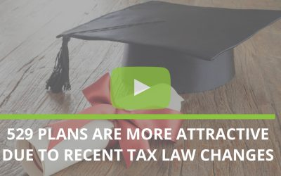 529 plans are more attractive due to recent Tax law changes